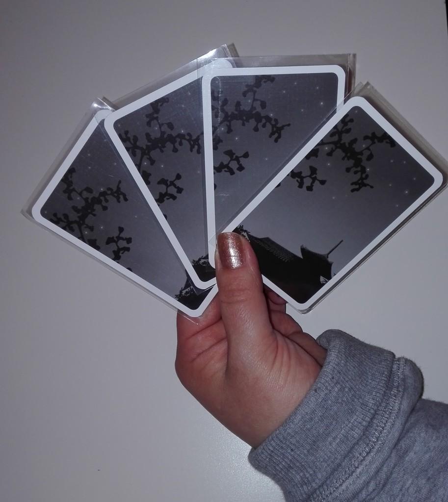 Come tenere in mano le carte