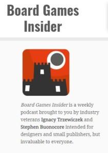 Board Game Insider raccoglie molti podcast (credit: boardgamesinsider.com)