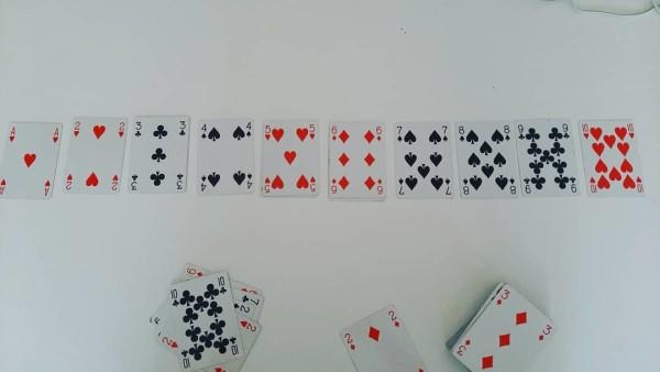 Le carte offrono sempre uno spunto, sia educativo che matematico