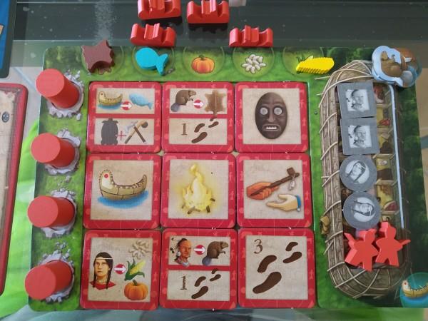 Plancia giocatore ad inizio partita