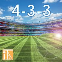 Diversi titoli sono a tema sportitvo: qui 4-3-3 che vi porterà su un campo di calcio
