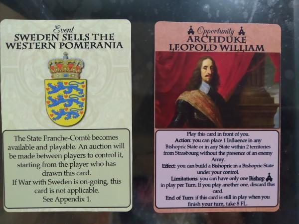 Due esempi di carte
