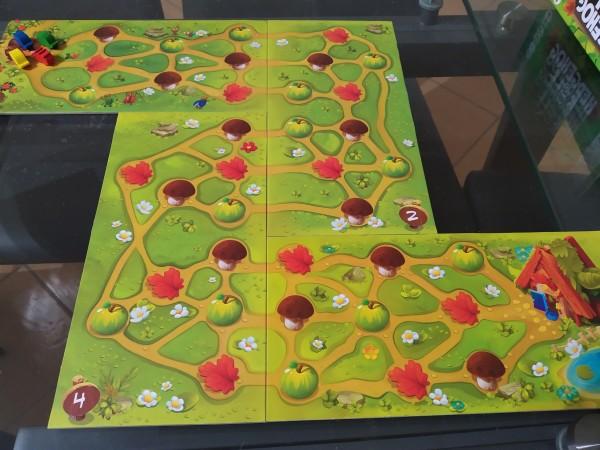 Disposizione suggerita per la prima partita in modalità competitiva