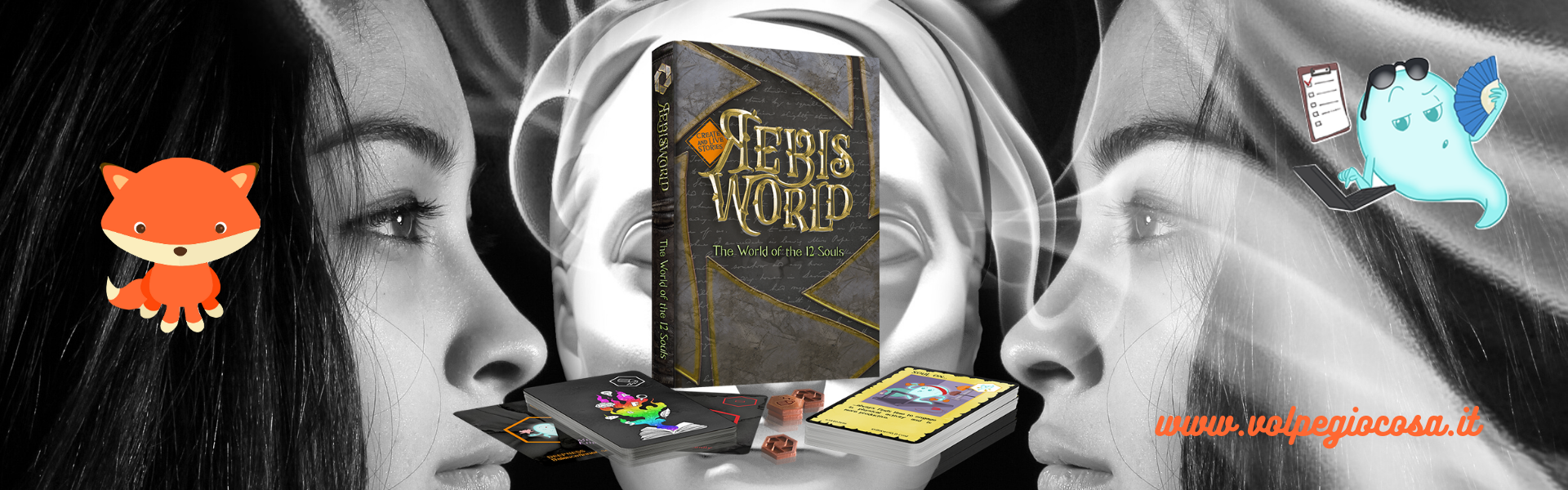 Rebisworld: la tua storia attraverso una storia collettiva