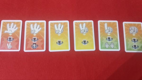 Le carte che attribuiscono, in base a con che numero si vinge, che cosa succede