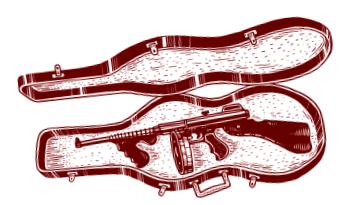 Il fucile mitragliatore Thompson, che dà il nome al gioco