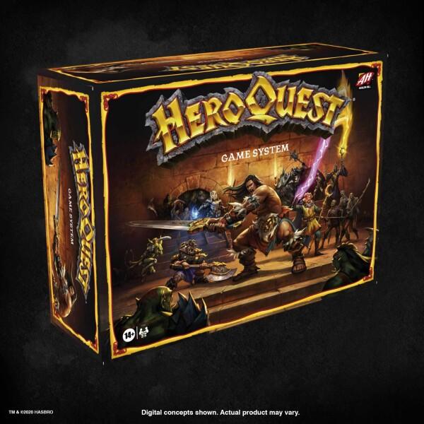 Hero Quest Game System: un crowdfunding che ha fatto molto parlare e discutere