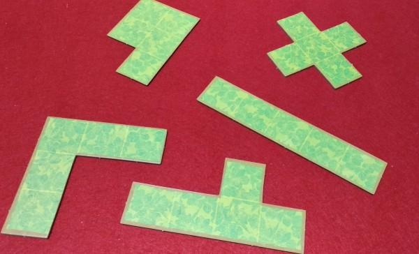 Con questi pezzi tipo Tetris ognuno costruisce il suo Campo