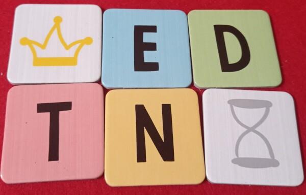 Le lettere e le tessere speciali