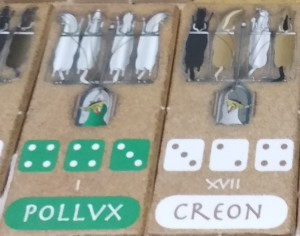 Pollux è sicuramente un abile auriga, Creon deve ancora migliorarsi