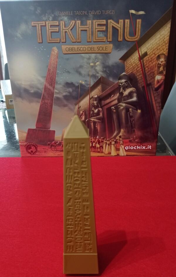 L'obelisco: la star del gioco