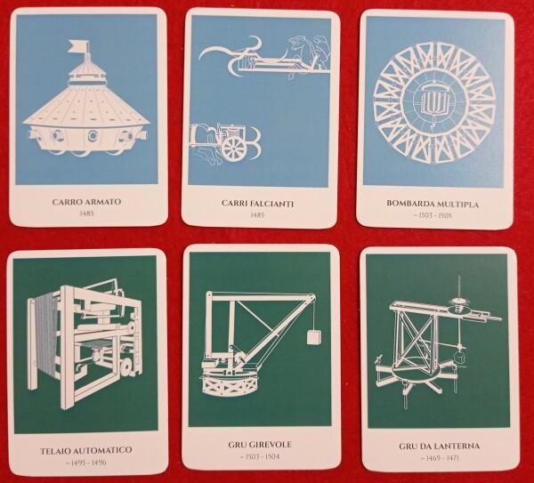 Alcune carte Invenzione