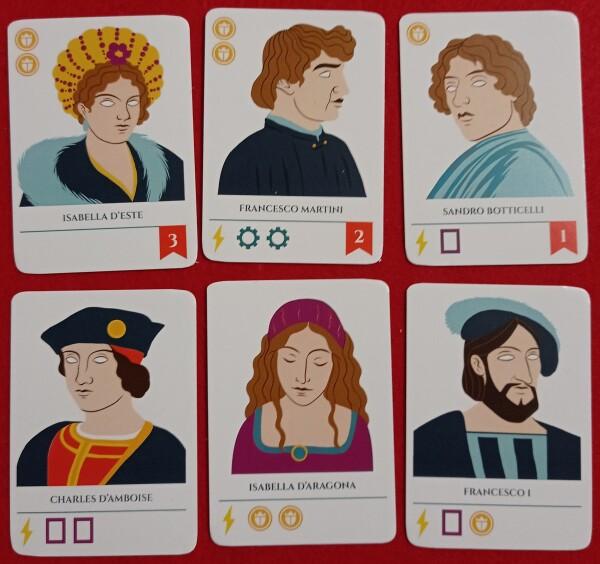 Alcuni personaggi. Divertitevi a cercare su Wikipedia quelli che non conoscete