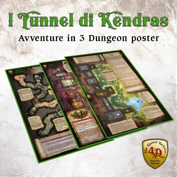 Kendras - 3 Dungeon Poster