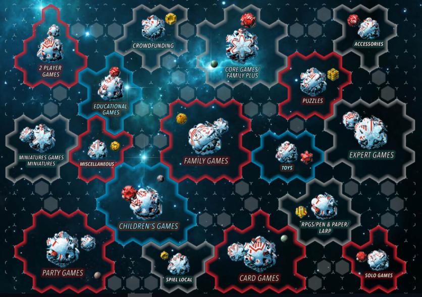 Le categorie che troverete allo Spiel Digital