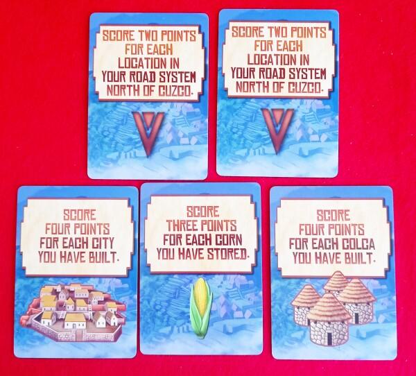Scegliete tre obiettivi segreti su cinque. Non
