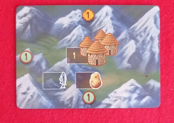 Questa è una Cloca di Montagna. Tramite un'azione potete occupare pesce o patate
