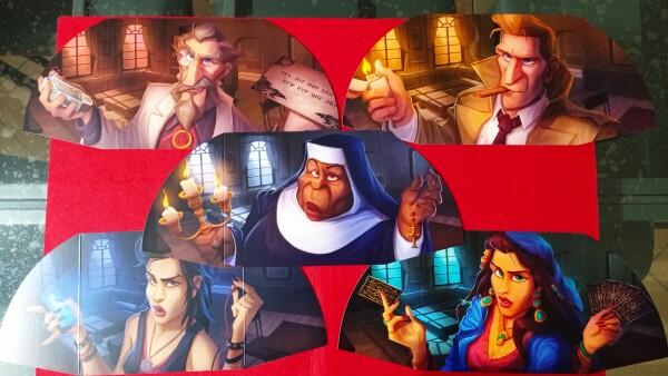La grafica smorza i toni, rendendo Paranormal Detective un gioco leggero