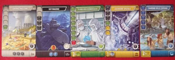 Differenti tipi di carte
