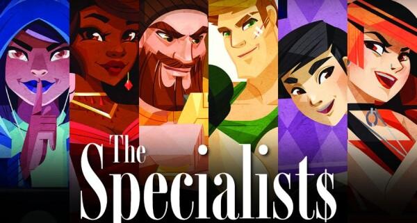 Il banner di The Specialists