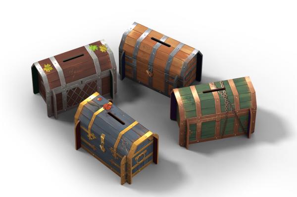 I forzieri: probabilmente l'elemento più scenico del gioco