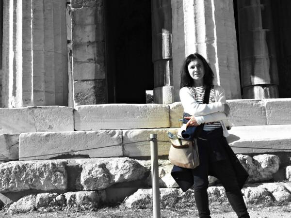 Monica in trasferta al Partenone