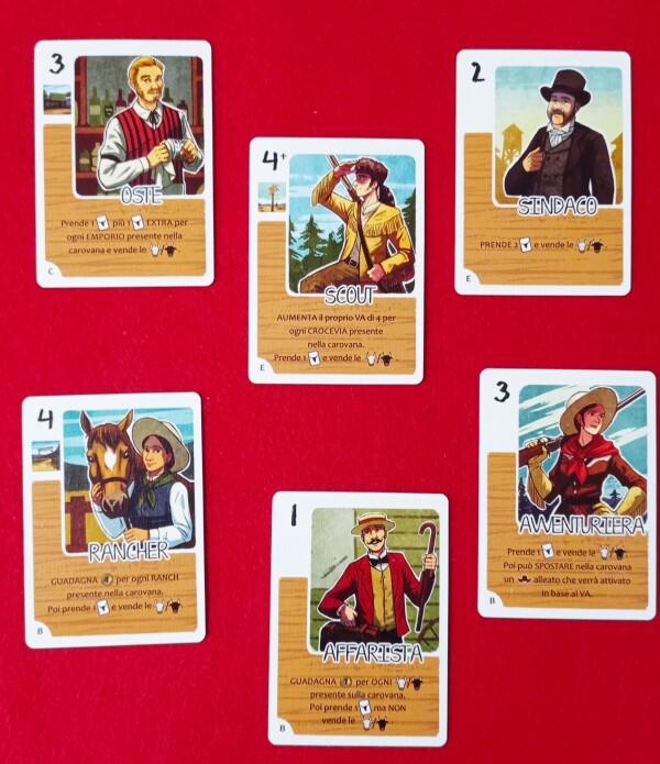 Una raccolta di Carte Personaggio