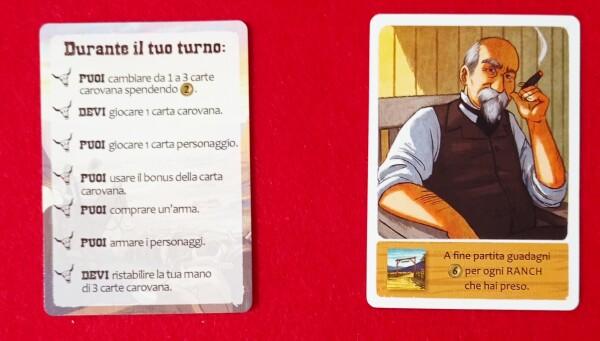 La carta Boss da un lato rappresenta un riassunto del turno, dall'altra un obiettivo segreto per il singolo giocatore
