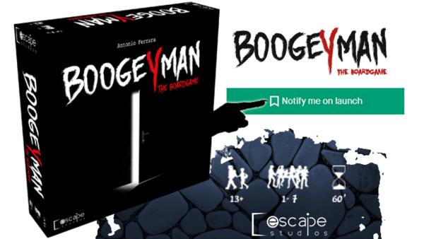 Boogeyman: questa è la figura che si vede al link Kickstarter in attesa parta la campagna