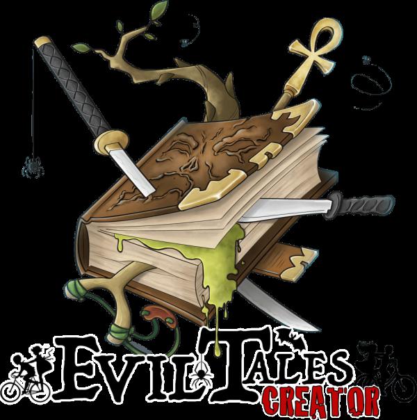 Lo splash screen di Evil Tales Creator