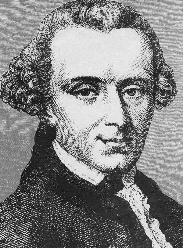 L'imperativo ipotetico formulato da Kant collega un'azione a una necessità. Si fa qualcosa per un fine, si beve per dissettarsi. L'impertivo cateforico, cardine della morale kantiana, afferma che ci sono scelte che vanno prese a priori , dei