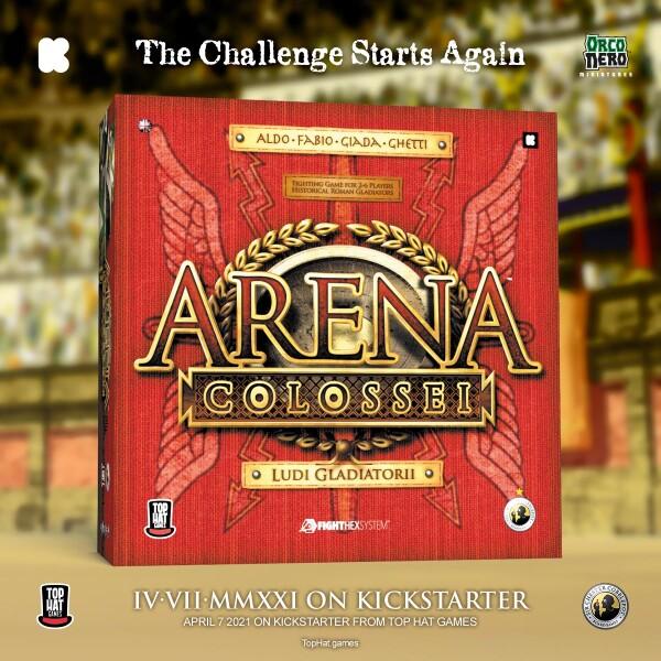 Tutto pronto per il Kickstarter di Arena Colossei