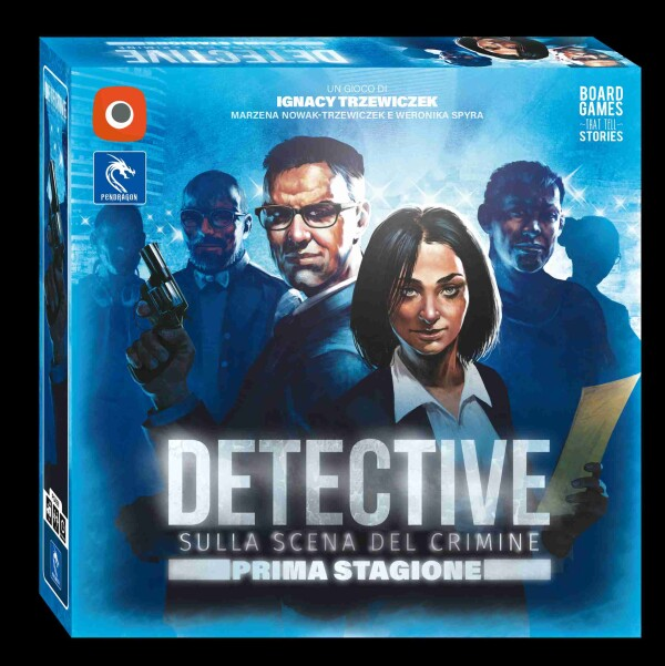 Detective 3D Box