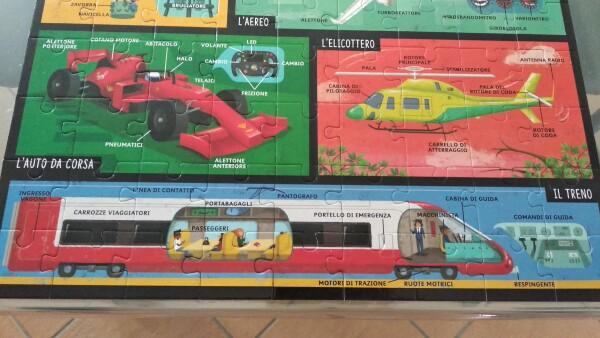 Molti dettagli per ogni mezzo di trasporto