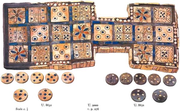 Tavola Reale di Ur (credit: British Museum 2600 BC)