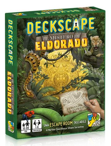 """La serie Deckscape è stata pubblicata con più titoli perchè gli autori si sentivano più preperati sugli enigmi. Acquisiti le capacità da """"giallisti"""", promettono 2 titoli l'anno di Decktective"""