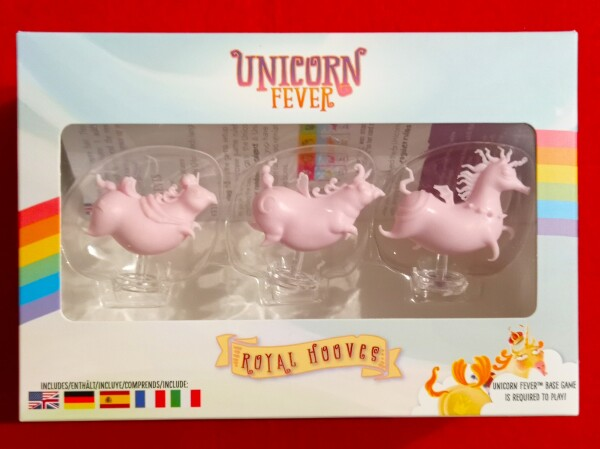 Esiste già una piccola espansione con 3 unicorni addizionali, ognuno con le sua abilità e la stramba silhoutee