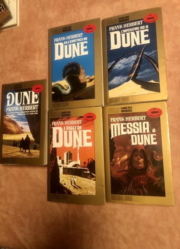 La Serie oro sul ciclo Dune