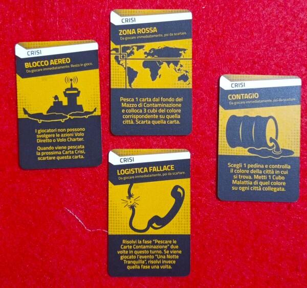 Le carte Crisi aggiungono pepe al gioco