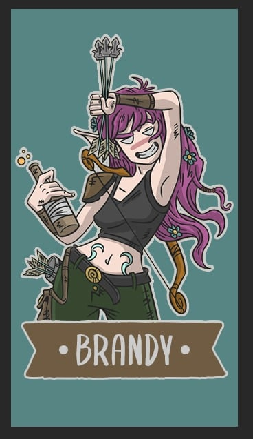 Brandy è la prima eroina della serie
