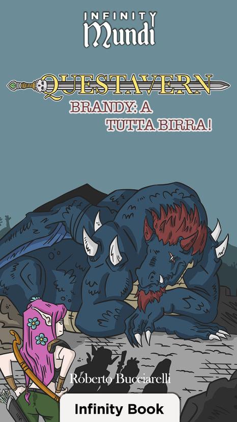 La copertina del libro digitale