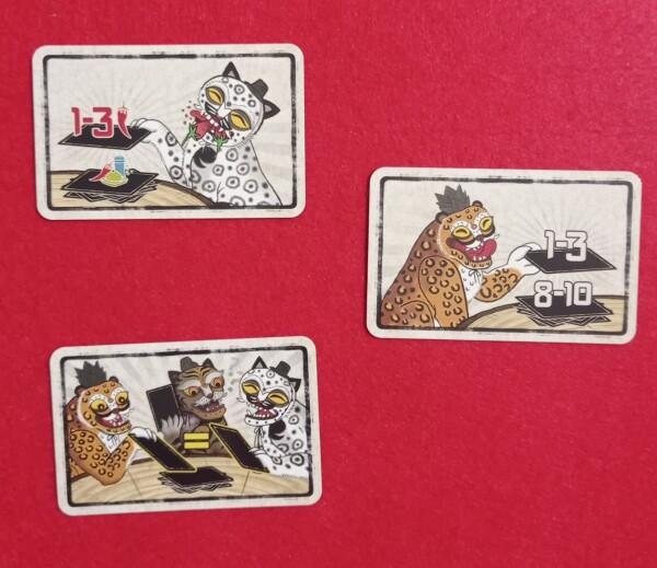 Alcune delle carte Speziali