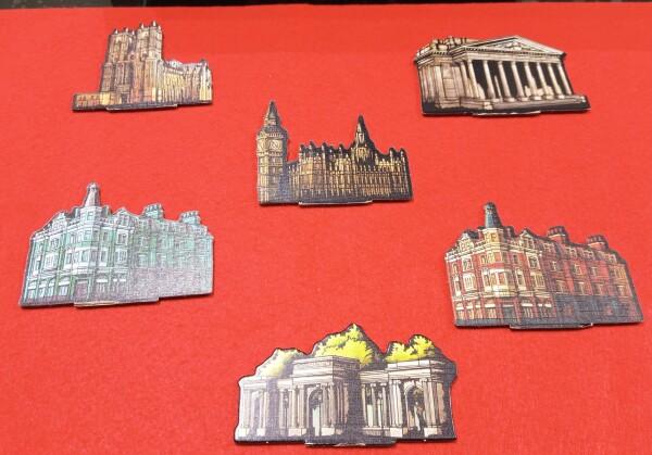 Riconoscete questi edifici storici di Londra?