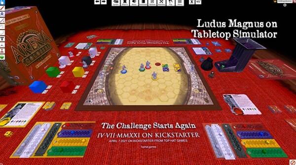 Top Hat Games offre la possibilità di dimostrazioni su Tabletop Simulator