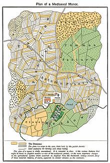 Una mappa che mostra i terreni demaniali nel medioevo (credit: Wikipedia)