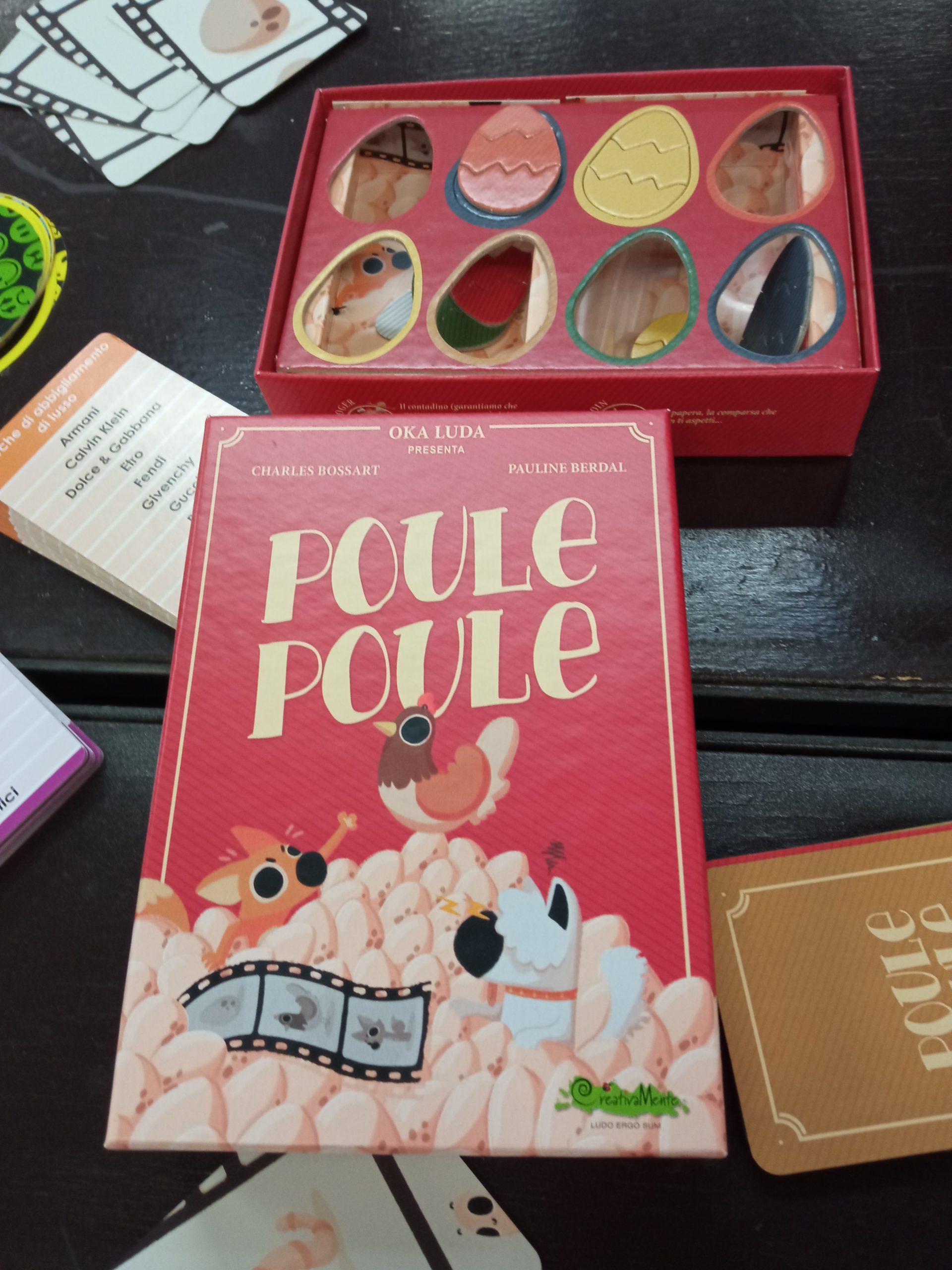 CreativaMente: Poule Poule
