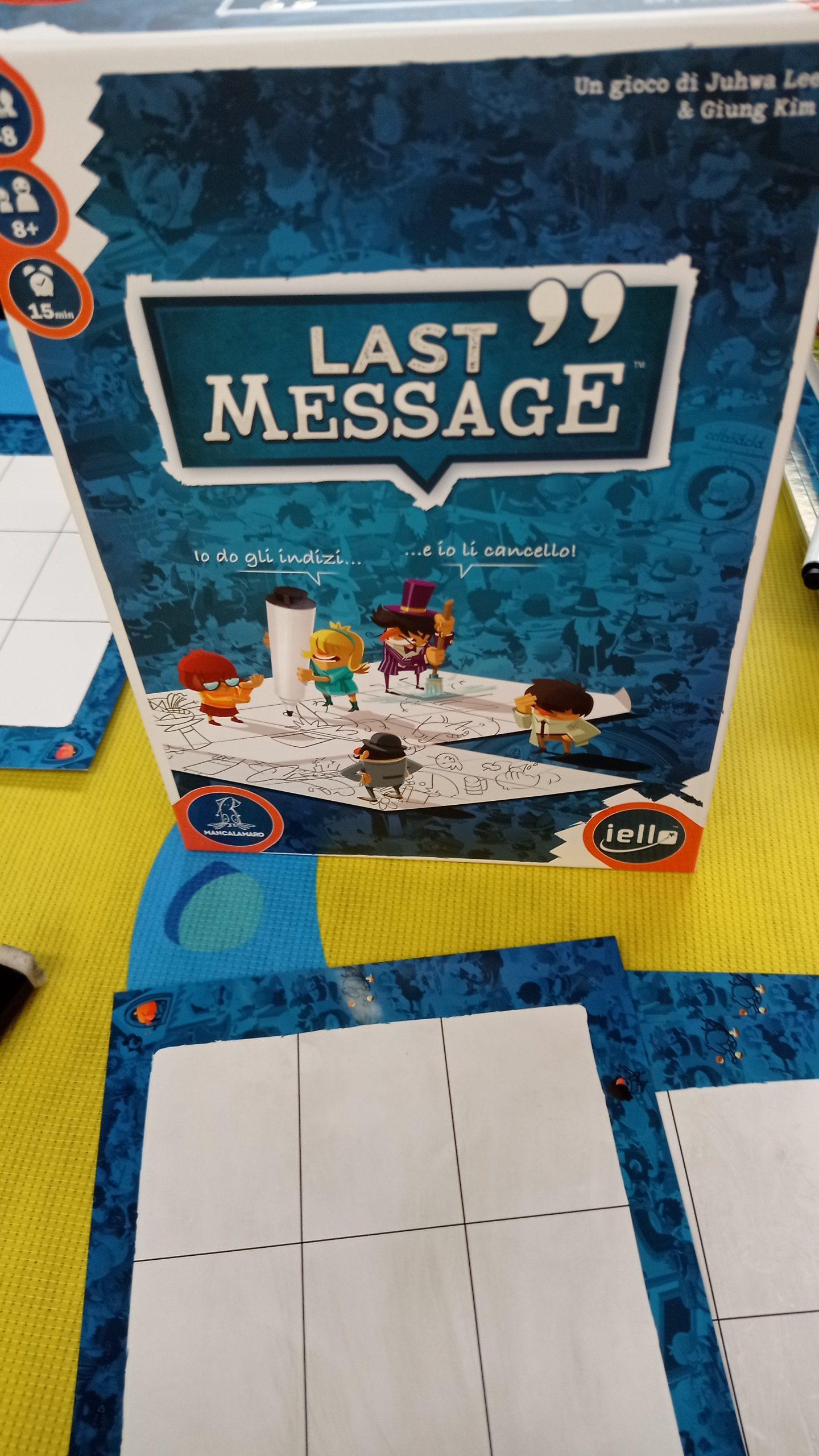 Mancalamaro: Last Message
